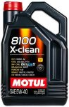 MOTUL 8100 Xclean 5W40 4 liter