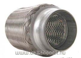 Kipufogó flexibilis cső 55x100 3 rétegű