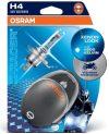 OSRAM X-Racer 64193XR-02B 12V H4 60/55W +20% RACER CB motorkerékpár 2db