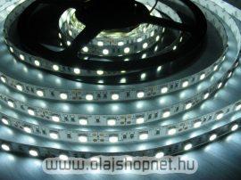 Flexibilis SMD LED szalag, vizálló, 60LED/m, fehér fényű, méterben