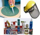Tömítő Anyagok, Ragasztó Anyagok, Munkavédelmi eszközök